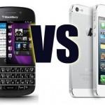 IPhone 5S vs BlackBerry Q10 – Comparación de precios y especificaciones