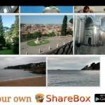 Comparte fotografías mediante WiFi con ShareBox