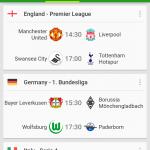 Soccer Scores – Para los fanáticos del futbol